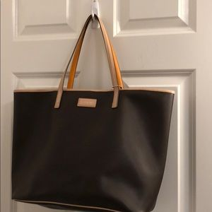 Authentic Brown Coach Tote Bag